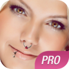 Pimp My Piercing PRO - Virtual Body Piercing Booth - Face Tune App for Your Virtual Face Makeover